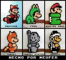 LEGO: Mario Bros Suits by Meufer