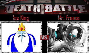 Ice King vs Mr. Freeze by SonicPal