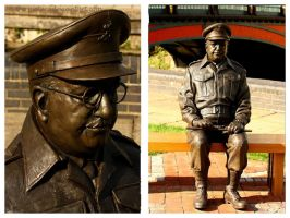 Captain Mainwaring Diptych by In-the-picture