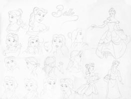 Belle Model Sheet by Lcslayer