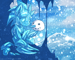 30min Challenge - Ice by atryl