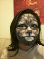 make up cat by frani1
