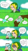 Link and Navi by chibiggydesu55
