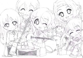 Chibi: K-on! Group Draft by animereviewguy