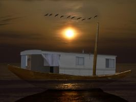 My Little Houseboat by 3punkins