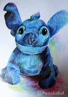 Smiling Stich Doll by panskiduf