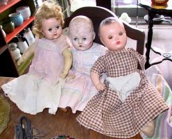 Antique Doll 3 by Falln-Stock