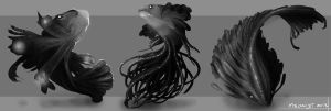 Sea Creature Conceptual 3 by meowlism
