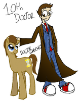Doctor Who and Doctor Whooves by InsanelyADD