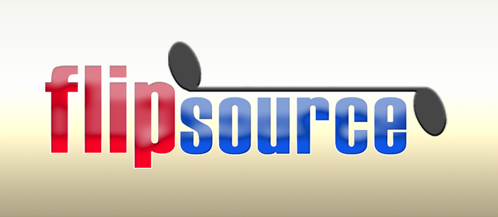 flipsource logo by nxproductions