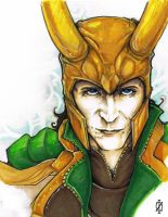 Loki Tom Hiddleston by ChrisOzFulton