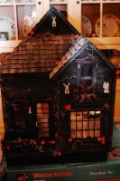 OOAK Haunted Winston Dollhouse by DollzMaker