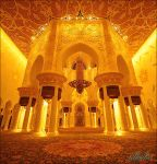 SH. Zayed Mosque-Gold Edition by albishri