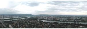 360 degree view over Vienna by finepix-at