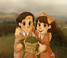 The biggest frog in the world by onone-chan