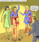 TLIID What if Supergirl arrived with baby Superman by Nick-Perks