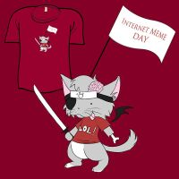 Woot Shirt - Internet Meme Day by fablefire