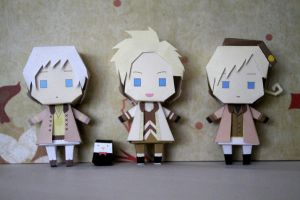 Fantasia Iceland Denmark and Norway papercrafts by DandelmiNia