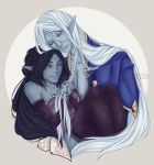Yueh and Ceres by TsuchiKuroi