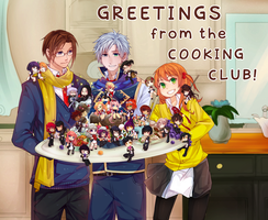 MM: Cooking Club Poster by Jujupancakes