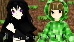[MMD] Minecraft by ElviraMoa