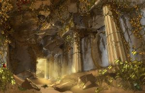 Ancient Temple by APetruk