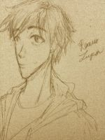 Remus Lupin sketch by goldencreeper