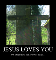 Jesus loves you by xXLukiraXx