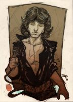 Jim Morrison by DenisM79