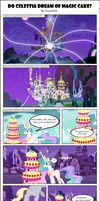 Do Celestia Dream of Magic Cake? by J-bronyIND