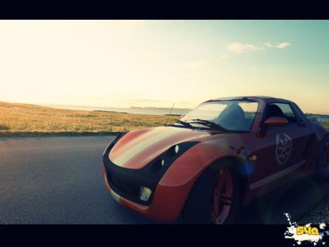 Smart Roadster RED DEVIL by eric101