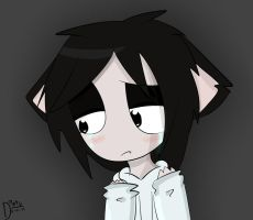 sad neko jeff by ask-jeff-the-neko
