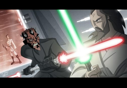 Duel of the Fates by OtisFrampton