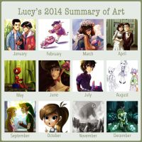 2014 Art Summary! by Timidemerald