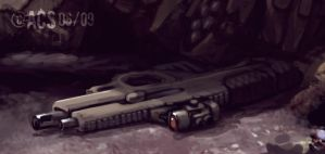 CQB 50cal : Preview by Shimmering-Sword