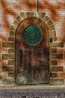Door Beaumont sur Sarthe France by hubert61