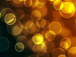 Golden Bokeh by cibervoldo