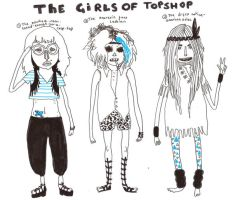 girls of topshop by MisterISK