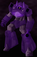 shockwave colored by Bloo-DKai12