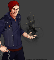 Delsin's Fire by Luccorvus