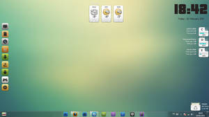 Windows 7, February desktop by Doru94