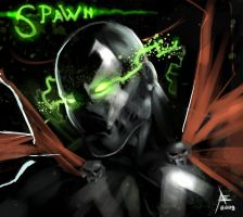 Spawn Sketch by xavor85