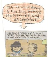 What drawing was like before internet/Deviantart by dth1971