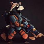 Rocket Raccoon  by ChukaBoy