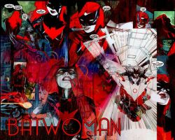 Batwoman Desktop Wallpaper by kestinstewart