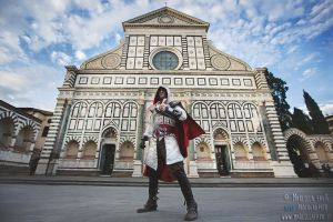 Ezio Auditore da Firenze- Assassin's Creed Cosplay by LeonChiroCosplayArt