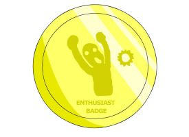 Enthusiast Badge by RyuPointGame