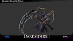 Death: Reaper Form [Darksiders 2 Wallpaper] by Hynotama