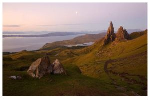 Old Man Of Storr at Dawn by didjerama