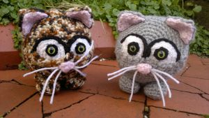 Cute Cat Crochet Amigurumi Contest Entry by RuthNorbury